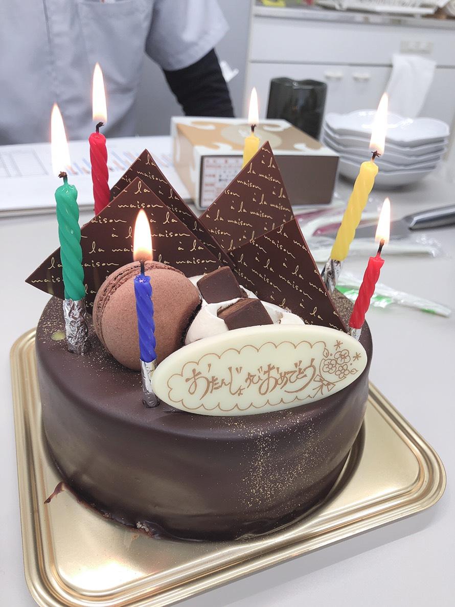 院長BDケーキ